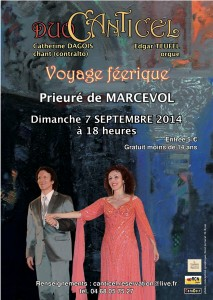 Affiche canticell 2014