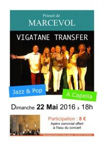 affiche concert Vigatane Transfer